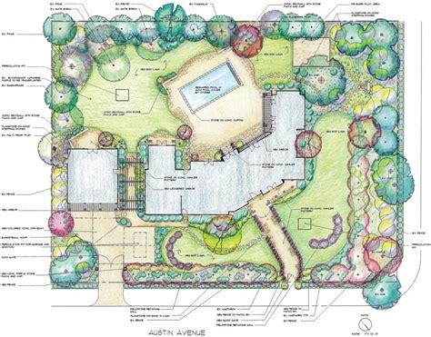 landscape lighting plan landscape design and construction services rainscape design