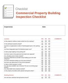 building inspection template building checklist templates 15 free word pdf format