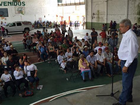 acuerdo paritarias 2016 maestros anuncia l 243 pez obrador firma de acuerdo para mejorar