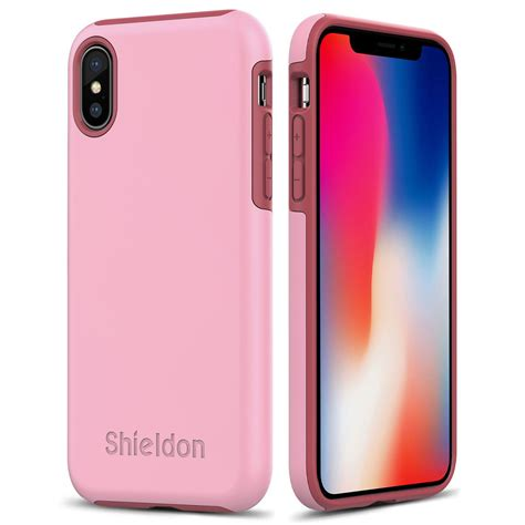 for iphone shieldon iphone x pink color for apple iphone