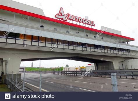 Auto Grill by Autogrill Restaurant An Highway Outside Milan Italy