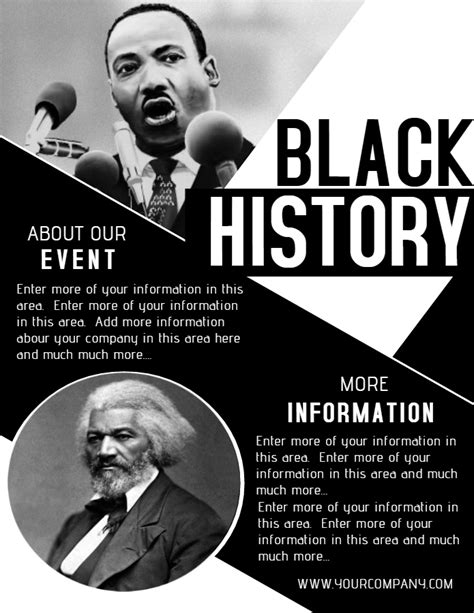 Top 10 Templates From The Design Community Vol 8 Design Studio Black History Month Poster Template