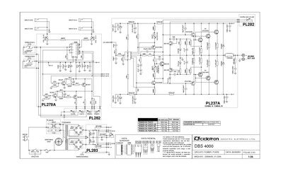 amplificador ciclotron dbs service manual repair