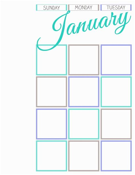 printable journal calendar printable calendar journal while he was napping