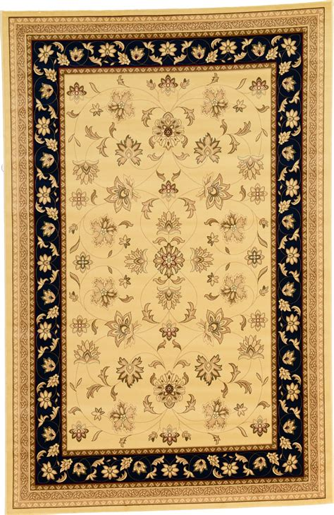 Area Rugs 6 X 9 Traditional Rugs Area Rug 6 5 X 9 New Classic Rug Soft Carpet Ebay