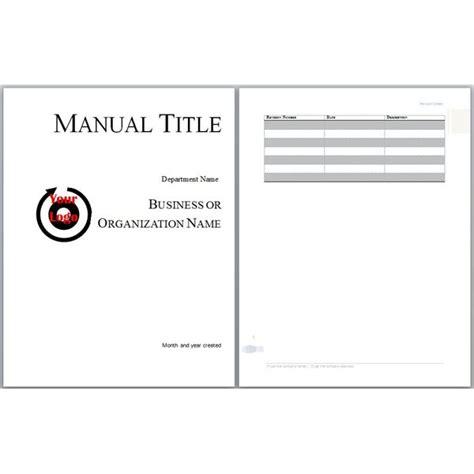 employee training manual template small business operations handbook