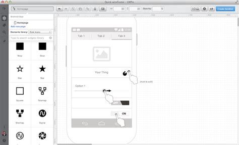 uxpin pattern library wireframes de bouwtekening van een website burst