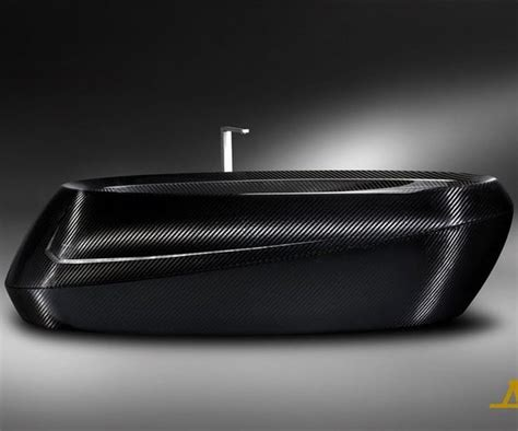fiber bathtub the corcel carbon fiber bathtub is something else