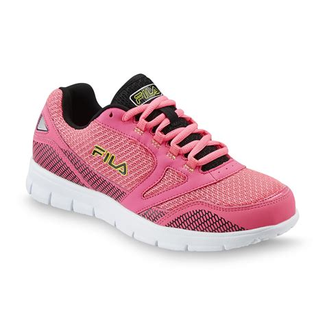 fila s direction athletic shoe pink