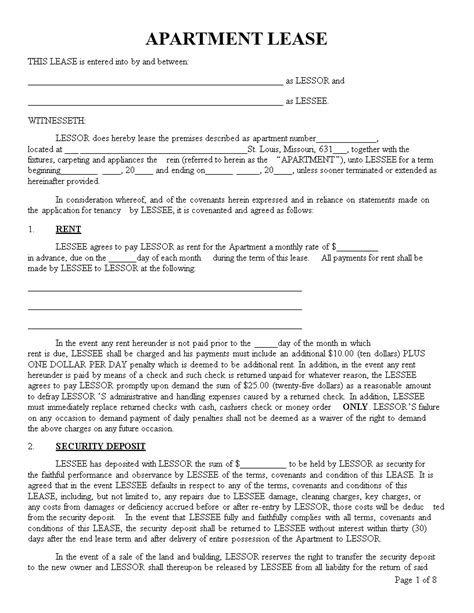 apartment lease transfer letter templates