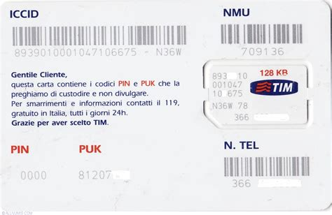 numeri tim mobile sim tim 128 kb with sim tim sim italy token 22924