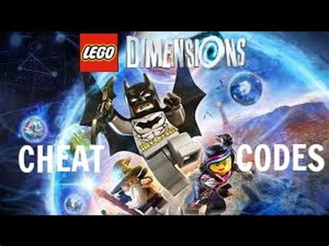 LEGO Dimensions - Cheat Codes - YouTube Lego Dimensions Cheat Codes Ps4