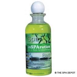 tub insparation 9 oz liquid aromatherapy tranquility