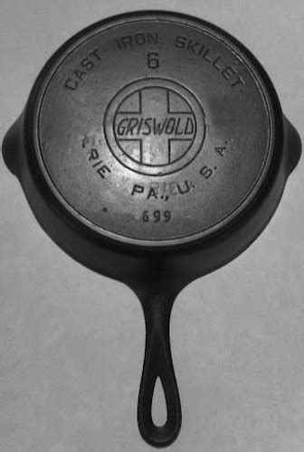 evolution   griswold skillet  cast iron
