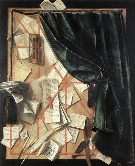 L Painting by Trompe L Oeil Cornelis Norbertus Gysbrechts Wikiart