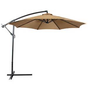Hanging Patio Umbrella Patio Umbrella Offset 10 Hanging Umbrella Outdoor Market Umbrella New Ebay