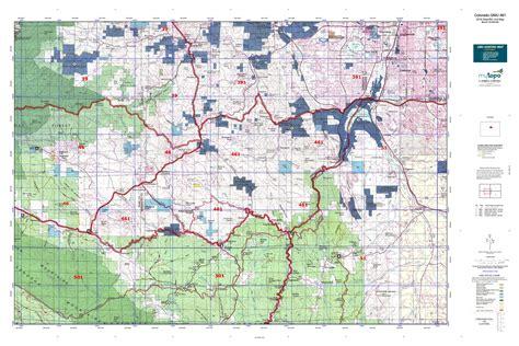 colorado gmu map 29 beautiful colorado area map afputra