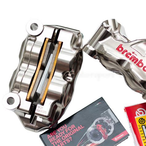 Brembo Brake System Rear Caliper P234 Cnc Billet Titanium brembo gp4 rx cnc p4 32 32 100mm billet radial calipers with brake pads 220b01020