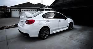 Subaru Wrx 2015 White 2015 Subaru Wrx Sti New White Pearl 2015 Wrx Sti