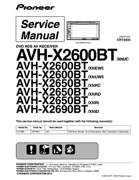 pioneer avh x2600bt wire harness pioneer 2 din stereo