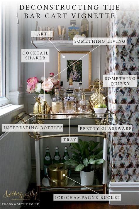 9 essentials for a perfectly organized living room pulp the essential elements for creating the perfect bar cart