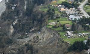 Backyard Slip And Slide Whidbey Island Landslide Thirty Homes Threatened As