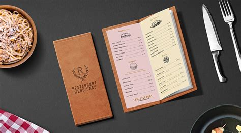 menu design mockup restaurant menu card mockup psd graphicsfuel