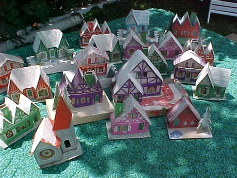 where to buy christmas village houses christmas village putzes and train layouts during world war ii