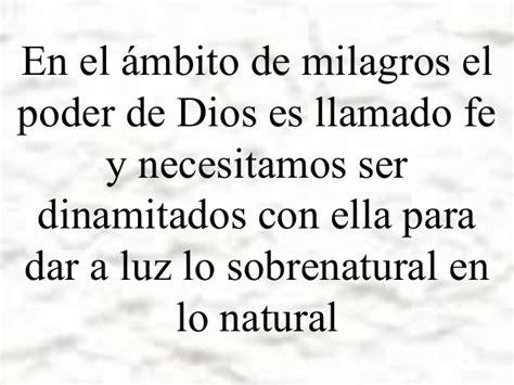 como caminar en el como caminar en el poder sobrenatural de dios