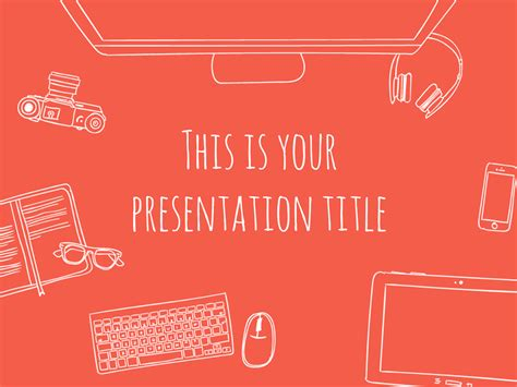 Slide Themes Free Presentation Template Fresh Startup Style