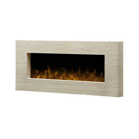 Lowes Dimplex Electric Fireplace by Shop Dimplex 44 In W 4 231 Btu Grey Metal Wall Mount