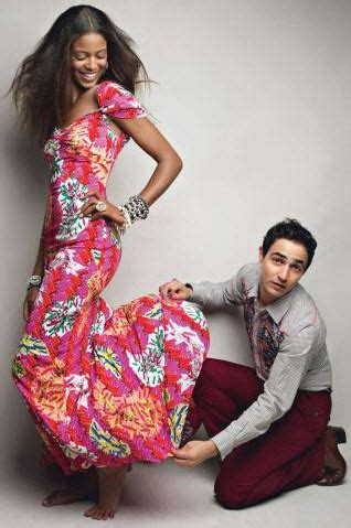 Who Wore It Better Zac Posen Watercolor Dress by Which Zac Posen For Target Line Is Your Style American Or