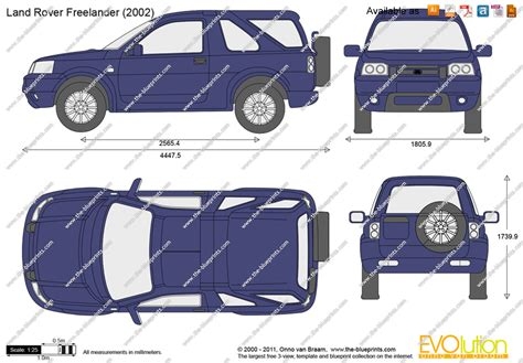 range rover vector the blueprints com vector drawing land rover freelander