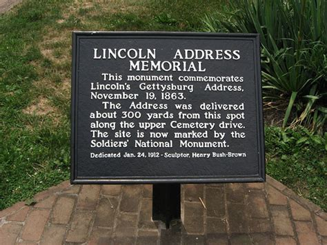 lincoln pa address lincoln address memorial gettysburg national cemetery