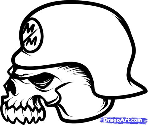 how to draw metal mulisha metal mulisha skull step by