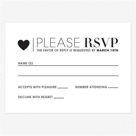 rsvp reply template wedding response cards nyc cheap invitations rsvp cards