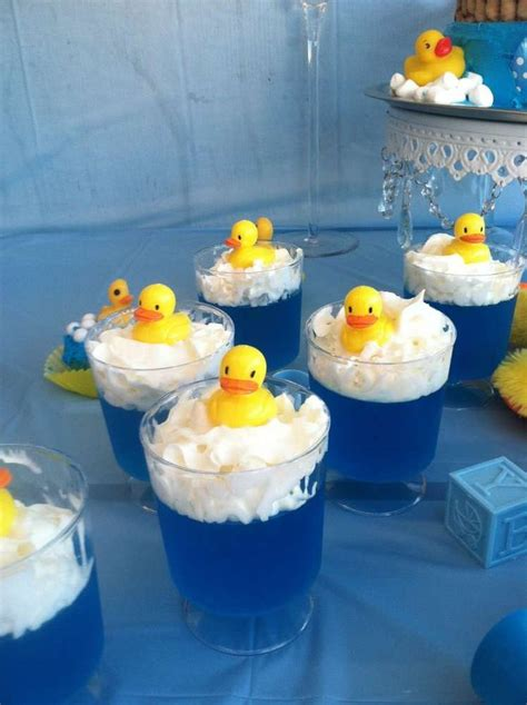 baby shower rubber sts rubber duckies baby shower ideas jello cups jello