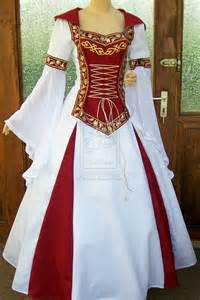 With the white and red would like to see a blue or green dress too