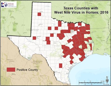 map west texas 2016 texas west nile virus maps