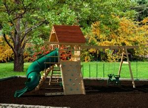 swing sets michigan amish made play sets hometown backyard in ortonville