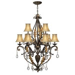 veranda chandelier buy the veranda 2 tier 9 light chandelier