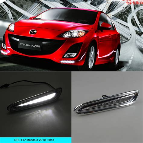 automotive led light kits car drl kit for mazda 3 2010 2011 2012 2013 led daytime