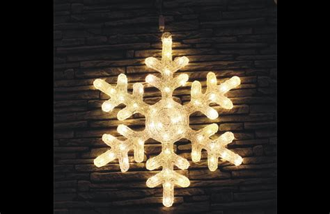 Led Solar Star Light Snowflake Light Solar Snowflake Lights