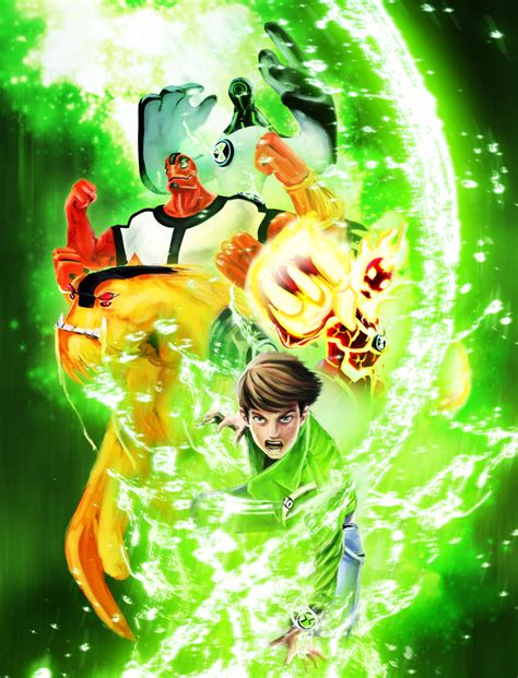 benten painting ba ben 10 poster by leonardoenrique on deviantart