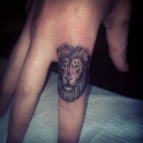 tattoo finger lion lion finger tattoo designs ideas and meaning tattoos