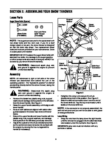 Mtd 31ae640f352 Snow Blower Owners Manual