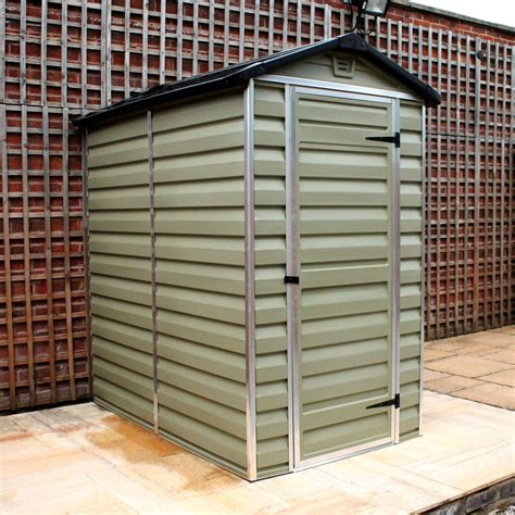 palram    plastic skylight shed greenhouse stores