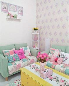 Sofa Cantik Minimalis desain ruang tamu ruang keluarga shabby chic ruang tamu shabby chic