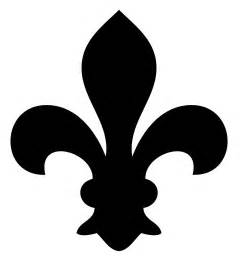 flur le vintage clip fleur de lis 3 options the graphics
