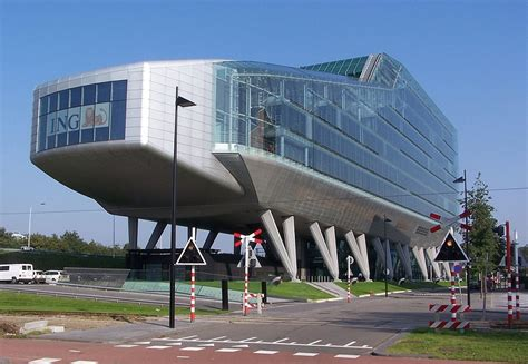 bank amsterdam ing bank headquarters amsterdam architecture revived